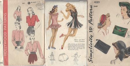 1940's Fashion Memorabilia