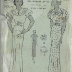 1930s-Vintage-Sewing-Pattern-B36-DRESS-1453-261954787460