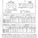 1940s-Vintage-Sewing-Pattern-CAPE-HAT-BAG-SET-B32-34-R132-251144403240-2