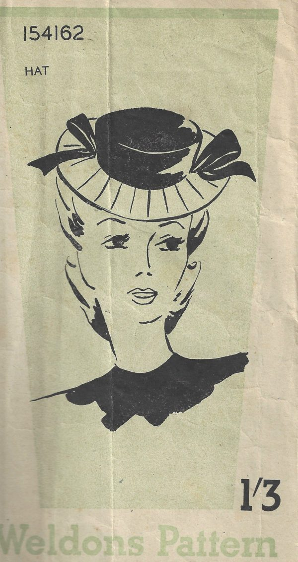 1940s-WW2-Vintage-Sewing-Pattern-HAT-SIZE-21-22-one-size-E1565-262219229500