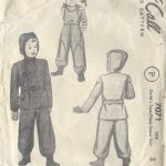 1947-Childrens-Vintage-Sewing-Pattern-S3-C22-SNOW-SUIT-JACKET-C2-251567899330