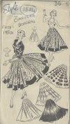 1950s-Vintage-Sewing-Pattern-B36-W30-CIRCULAR-SKIRT-SUNTOP-BLOUSE-1824-252882276070