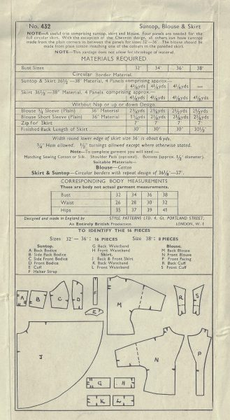 1950s-Vintage-Sewing-Pattern-B36-W30-CIRCULAR-SKIRT-SUNTOP-BLOUSE-1824-252882276070-2