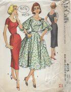 1957-Vintage-Sewing-Pattern-B34-DRESS-1454-252020748560