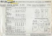 1957-Vintage-Sewing-Pattern-B34-DRESS-1454-252020748560-2
