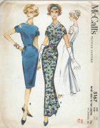 1959-Vintage-Sewing-Pattern-B34-DRESS-1457-261959908380