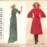 1978-Vintage-VOGUE-Sewing-Pattern-B36-DRESS-1707-By-EMANUEL-UNGARO-262559825820