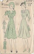 1940s-Vintage-Sewing-Pattern-DRESS-B36-69-252617374431