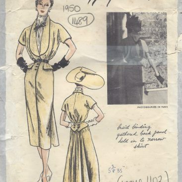 1950s Sewing Patterns Available For Dressmaking Tops And Skirts