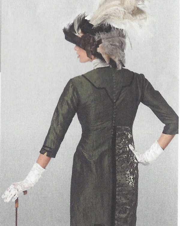 1900s-Edwardian-Vintage-Sewing-Pattern-DRESS-B36-38-40-42-44-46-48-50-1143-261447487422-2