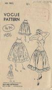 1956-VOGUE-Vintage-Sewing-Pattern-B36-SLIP-PETTICOAT-1470-261986928502