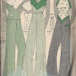 1930s-Vintage-Sewing-Pattern-B36-BLOUSE-PAJAME-PANTS-NOT-pyjamas-1798R-252827246253