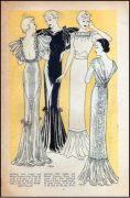 1939-Vintage-Sewing-Pattern-B32-EVENING-DRESS-R956-261203683893-4