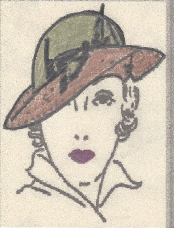 1939-Vintage-Sewing-Pattern-HAT-S22-MEDIUM-R801-251200291813