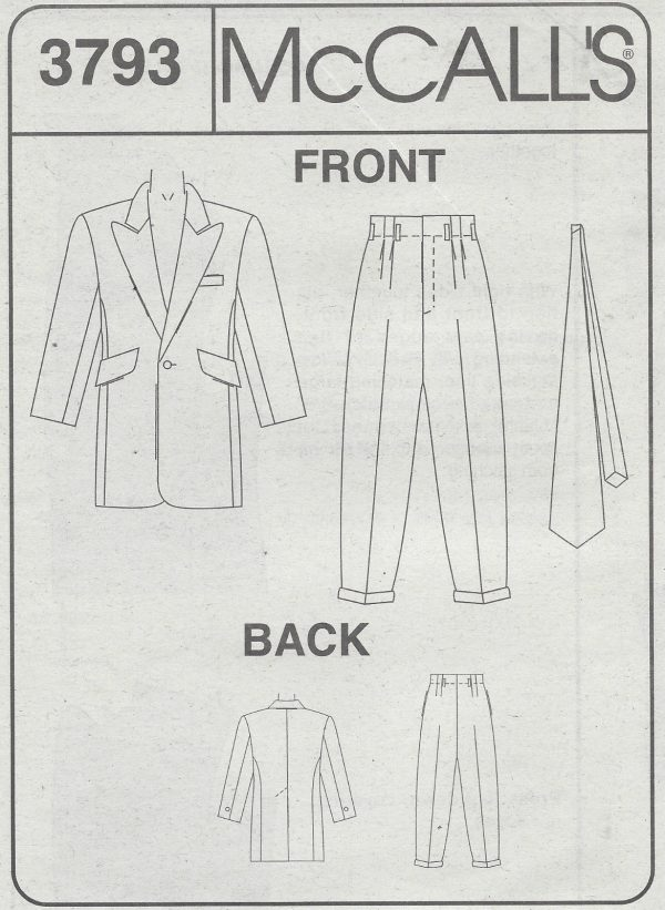 1940s-Vintage-Sewing-Pattern-C34-TO-48-MENS-ZOOT-SUIT-1071-252201238503-2