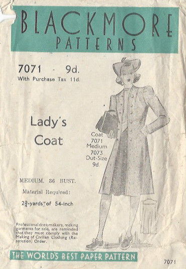 1940s-Vintage-Sewing-Pattern-COAT-B36-S12-4-251141563583