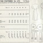 1947-Vintage-Sewing-Pattern-B32-DRESS-1488-252077943753-2