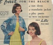 1950s-Vintage-Sewing-Pattern-B36-PLAYSUIT-JACKET-TUNIC-DRESS-KNICKERS-1302-261528999643-3