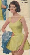 1950s-Vintage-Sewing-Pattern-B36-PLAYSUIT-JACKET-TUNIC-DRESS-KNICKERS-1302-261528999643