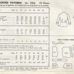 1952-Vintage-Sewing-Pattern-BLOUSE-B36-1676-262513085913-2