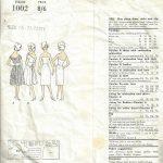 1960-Vintage-VOGUE-Sewing-Pattern-B36-DRESS-STOLE-SLIP-1578-262328480213-2