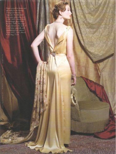 1931-Vintage-VOGUE-Sewing-Pattern-B32-12-DRESS-1201-262847911834-3