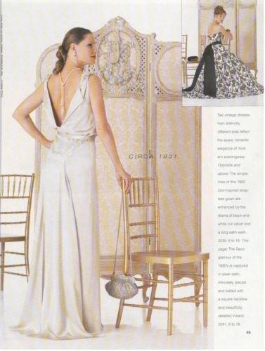 1931-Vintage-VOGUE-Sewing-Pattern-B32-12-DRESS-1201-262847911834-4