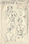 1950s-Vintage-Sewing-Pattern-BLOUSE-B36-R546-251919200714
