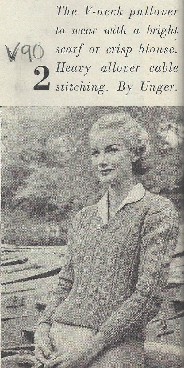 1959-Vintage-KNITTING-Pattern-V90-By-VOGUE-262205262634