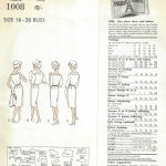 1960-Vintage-VOGUE-Sewing-Pattern-B38-DRESS-BOLERO-JACKET-1555-By-Nina-Ricci-262179779834-2