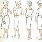 1960-Vintage-VOGUE-Sewing-Pattern-B38-DRESS-BOLERO-JACKET-1555-By-Nina-Ricci-262179779834-3