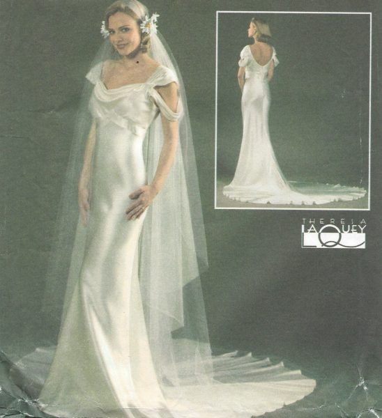 1930s-Vintage-Sewing-Pattern-DRESS-VEIL-B305-315-325-34-1366R-251773878295