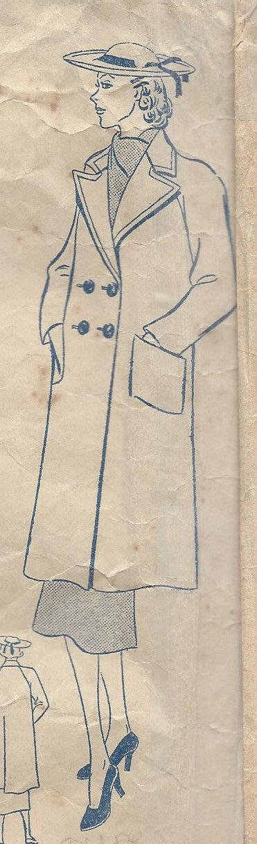 1939-Vintage-Sewing-Pattern-B40-COAT-R778-251188817185