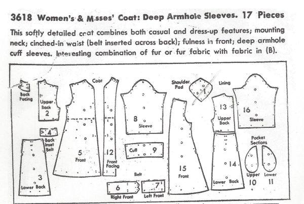 1940s-Vintage-Sewing-Pattern-B36-COAT-194-251173302865-2