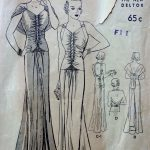 1930s-Vintage-Sewing-Pattern-B38-EVENING-DRESS-1648-252395118156-3