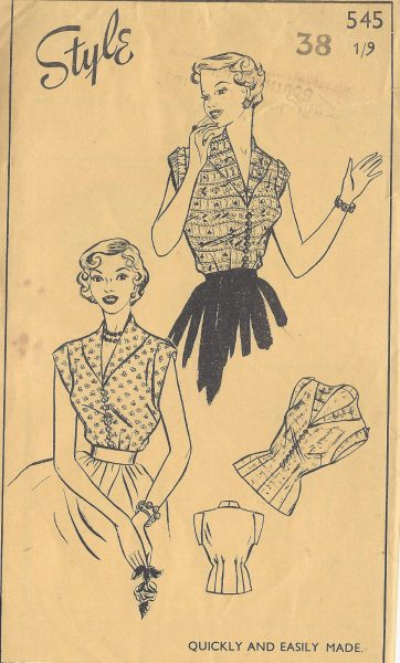 1950s-Vintage-Sewing-Pattern-B38-BLOUSE-R995-261219212556