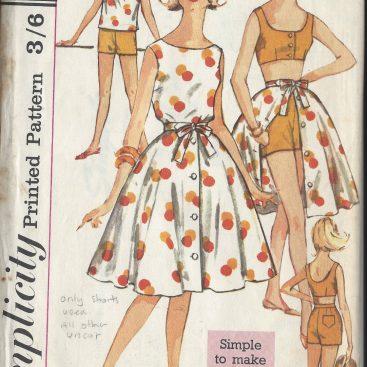 1960s Skirt Vintage Sewing Patterns