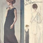 1965-Vintage-VOGUE-Sewing-Pattern-B34-EVENING-DRESS-1804-By-Jo-Mattli-262919147766