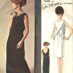 1965-Vintage-VOGUE-Sewing-Pattern-B34-EVENING-DRESS-1804-By-Jo-Mattli-262919147766-2