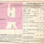 1969-Childrens-Vintage-Sewing-Pattern-S4-B23-TOP-BLOOMERS-C19-252521380666-2