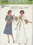 1977-Vintage-Sewing-Pattern-B34-PULLOVER-CAFTAN-or-DRESS-1825-252882780916