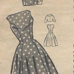 1950s-Vintage-Sewing-Pattern-B30-12-DRESS-JACKET-R300-251321059567