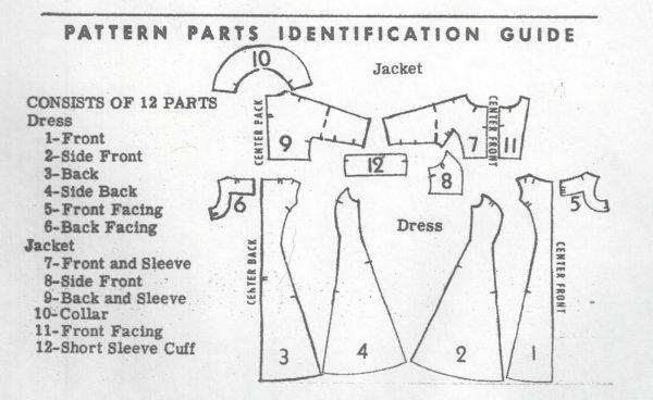 1950s-Vintage-Sewing-Pattern-B30-12-DRESS-JACKET-R300-251321059567-4