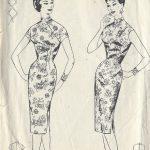 1950s-Vintage-Sewing-Pattern-B36-WIGGLE-DRESS-R994-261219211857