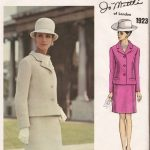 1968-Vintage-VOGUE-Sewing-Pattern-B38-SUIT-JACKET-SKIRT-1559-Jo-Mattli-252208957917