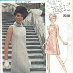 1970-Vintage-VOGUE-Sewing-Pattern-B38-DRESS-1525-By-ferderico-forquet-262075204467