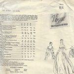 1954-Vintage-VOGUE-Sewing-Pattern-B32-DRESS-EVENING-GOWN-BOLERO-JACKET-1365-262559240578-2
