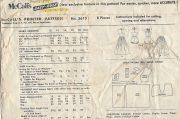 1956-Vintage-Sewing-Pattern-B30-HALTERNECK-BATHING-SUIT-SKIRT-PLAYSUIT-RR947-252629935138-2