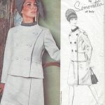 1960s-Vintage-Sewing-Pattern-B34-DRESS-JACKET-1061-SIMONETTA-of-ITALY-261271459208