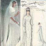 1964-Vintage-VOGUE-Sewing-Pattern-B36-WEDDING-DRESS-GOWN-1777-BY-JOHN-CAVANAGH-262786413978